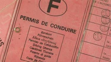 Photo d'un permis de conduire (illustration).