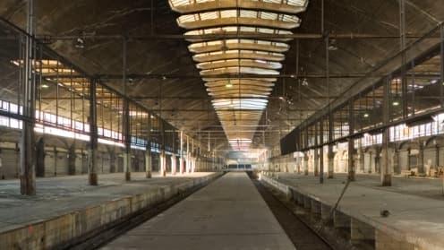 Le bâtiment de 25.000 m2 pourrait accueillir un millier de start-up.