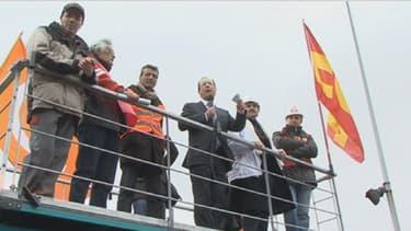 François Hollande s'était rendu à Florange alors qu'il était encore candidat. Il avait promis que l'usine ArcelorMittal ne fermerait pas.