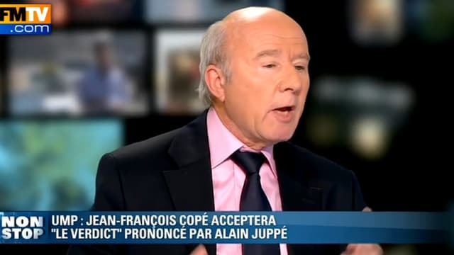 L'éditorialiste de BFMTV Olivier Mazerolle