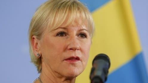 Margot Wallstrom, ministre suédoise des Affaires Étrangères, a fait du féminisme l'un de ses principaux sujets