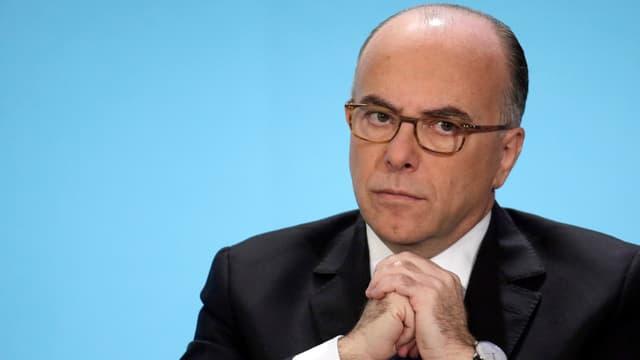 Le ministre de l'Intérieur Bernard Cazeneuve, le 21 janvier 2015.