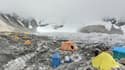 Vue Google Maps Street view du mont Everest