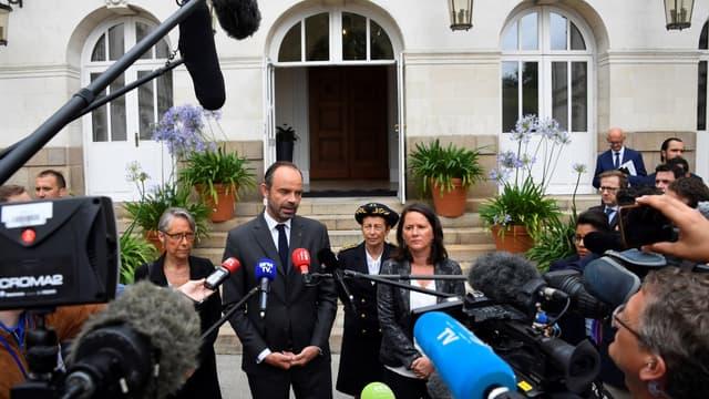 Édouard Philippe à Nantes, le 5 juin 2018