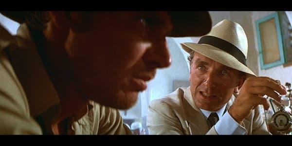 """Paul Freeman dans """"Les Aventuriers de l'Arche Perdue"""""""