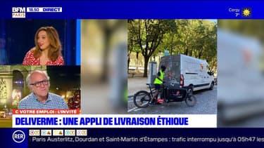 C votre emploi Paris: DeliverMe, une appli de livraison éthique - 25/11