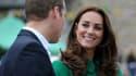 Kate et William, le 5 juillet, près de Leeds, lors du lancement du Tour de France.