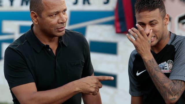 Neymar Sr et Jr réunis