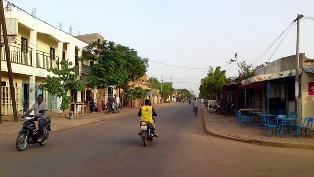 Une rue de Ouagadougou (photo d'illustration).