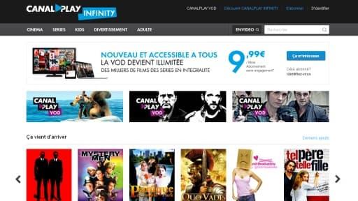 Canal Plus, principal acteur français de la SVoD avec CanalPlay Infinity