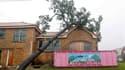 A La Nouvelle-Orléans, en Lousiane. L'ouragan Isaac a fléchi en tempête tropicale mercredi après-midi avec un affaiblissement progressif prévu au cours des prochaines 48 heures, selon le Centre américain des ouragans (NHC). /Photo prise le 29 août 2012/Jo