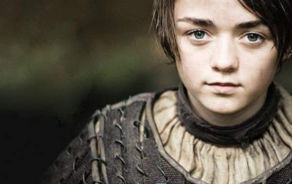 """Arya Stark, l'une des héroïnes de """"Game of Thrones"""""""