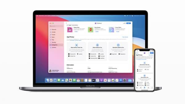 La nouvelle interface de l'App Store d'Apple