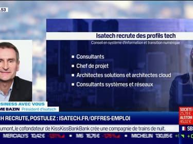 Isatech recrute à Vannes, Nates, Rennes et Paris