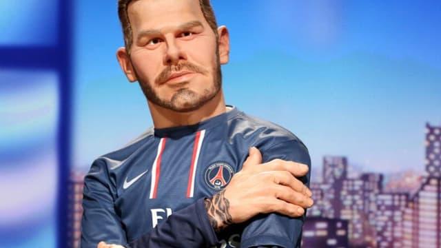 La marionnette de David Beckham