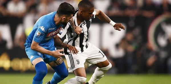 Naples contre la Juventus
