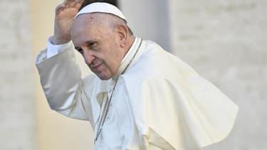 Le pape François le 25 octobre 2017