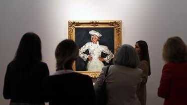 """Une toile du peintre français d'origine russe Chaïm Soutine, """"Le Petit Pâtissier"""", a été adjugée jeudi pour plus de 18 millions de dollars lors d'une vente aux enchères organisée par Christie's à New York, un montant jamais atteint pour un tableau de ce p"""