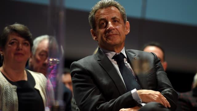 Nicolas Sarkozy le 20 janvier dernier.