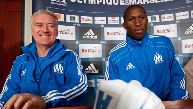 Rod Fanni aux côtés de Didier Deschamps