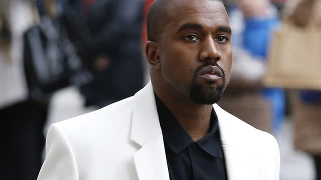 Kanye West en février 2015.