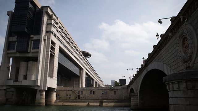 Le ministère de l'Économie à Bercy