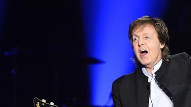 Paul McCartney le 31 mai 2016 en concert à Paris