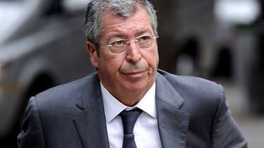 Patrick Balkany à Paris le 7 novembre 2014.