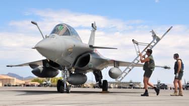 Les Rafale de l'armée de l'air française, qui intervient en Irak et en Syrie dans le cadre de la lutte contre Daesh. (Photo d'illustration)