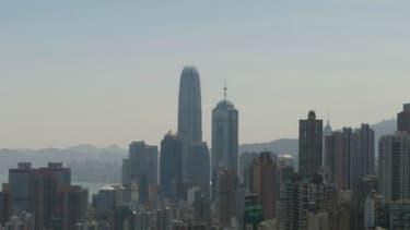 La côte nord de Hong-Kong
