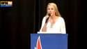 Marion Maréchal-Le Pen lors d'un meeting en Essonne, le 18 mai 2015.