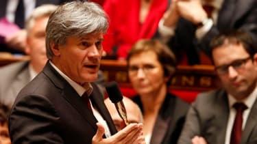 Stéphane Le Foll, ministre de l'Agriculture, a rencontré les producteurs d'oeufs à la suite de la destruction de plusieurs centaines de milliers d'oeufs.