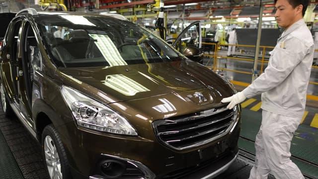 Le groupe automobile PSA dispose de trois usines à Wuhan.