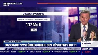 Bernard Charlès (Dassault Systèmes) : Dassault Systèmes publie ses résultats du T1 - 28/04