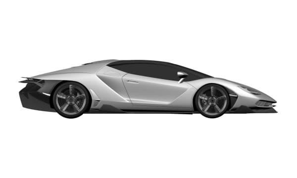 Les photos de la Lamborghini Centenario ont fuité avant l'ouverture du salon le 1er mars.