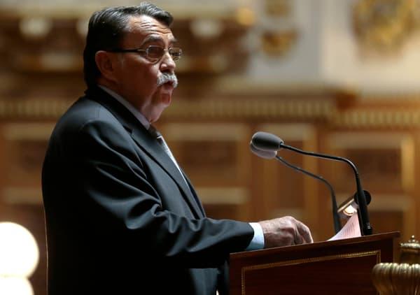 Jean-Pierre Michel avait été le rapporteur de la loi sur le mariage homosexuel.
