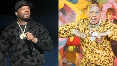 50 Cent et 6ix9ine
