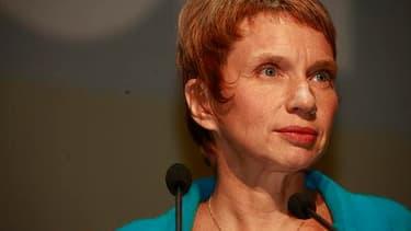 La présidente du Medef ne veut pas entendre parler de compensation au crédit d'impôt