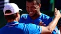 Jo-Wilfried Tsonga avec Arnaud Clément