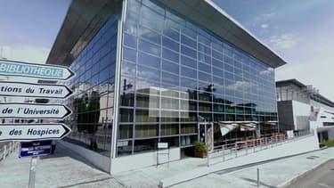 La rixe s'est déclenchée à proximité de la Bibliothèque Francophone Multimédia, à Limoges.