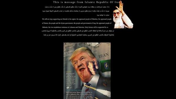 Le site piraté de l'American Federal Depository Library Programme