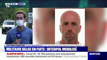 Militaire belge en fuite: Interpol mobilisé - 22/05
