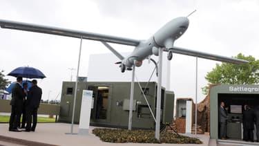 Thales dispose d'un système de drone développé pour des missions de renseignement, de surveillance et de reconnaissance.