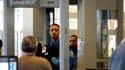 Contrôle dans un aéroport à Washington. Un complot d'Al Qaïda contre un avion de ligne qui, comme l'attentat manqué de Noël 2009, aurait utilisé des sous-vêtements piégés, a été déjoué aux Etats-Unis. /Photo d'archives/REUTERS/Kevin Lamarque