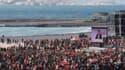 Jean-Luc Mélenchon a déplacé les foules samedi à Marseille où plusieurs dizaines de milliers de personnes ont assisté au meeting du leader du Front de gauche sur les plages de la ville. Après la Bastille à Paris et la place du Capitole à Toulouse, le cand