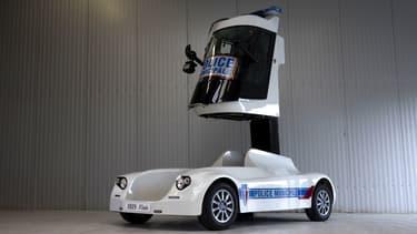 Le véhicule testé par la police municipale de Béziers
