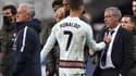 Fernando Santos salue la sortie de Cristiano Ronaldo