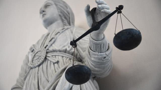 La balance de la Justice (illustration)