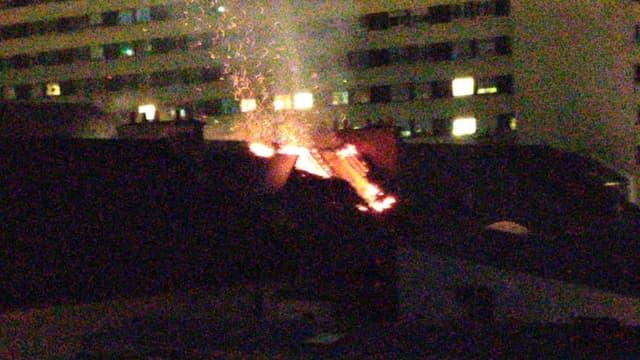 Un incendie s'est déclenché ce mercredi soir à l'hôpital Saint-Antoine à Paris.
