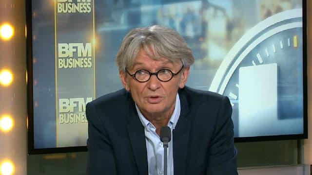 Jean-Claude Mailly était l'invité de BFM Business, ce mercredi.